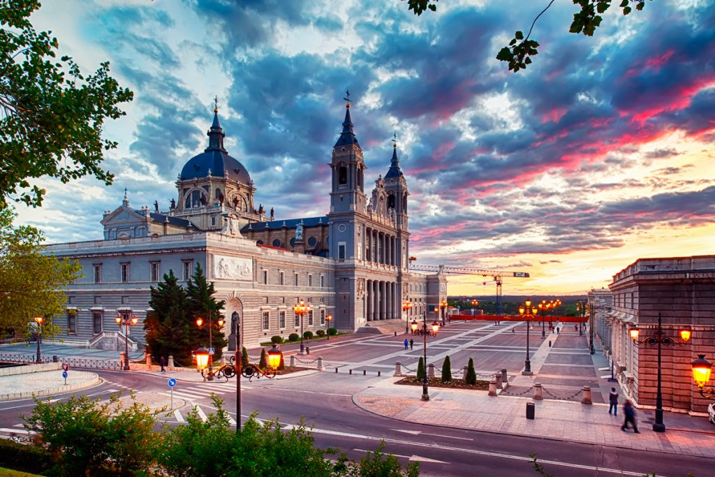 August in Madrid