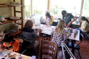 French pottery class to go with blog second languages