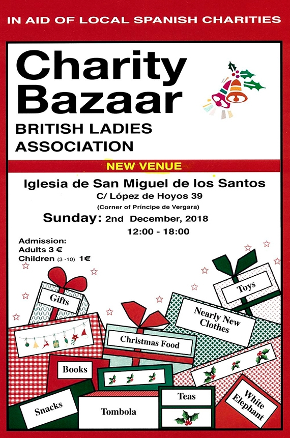 British Ladies Association Christmas-Bazaar