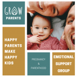 Emotional support group for pregnancy and parenthood